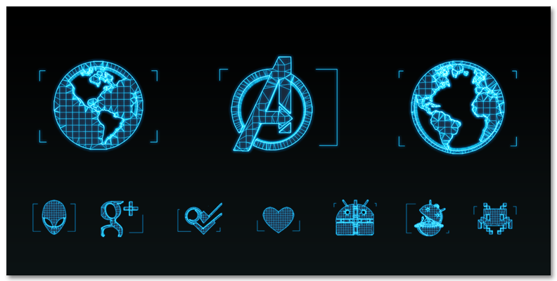Pictures of Jarvis Iron Man Icon - #rock-cafe